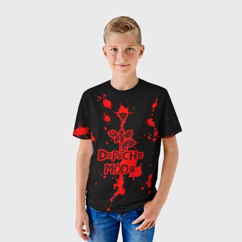 Детская футболка 3D  Фото 01, Depeche Mode
