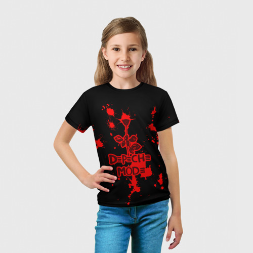 Детская футболка 3D  Фото 03, Depeche Mode