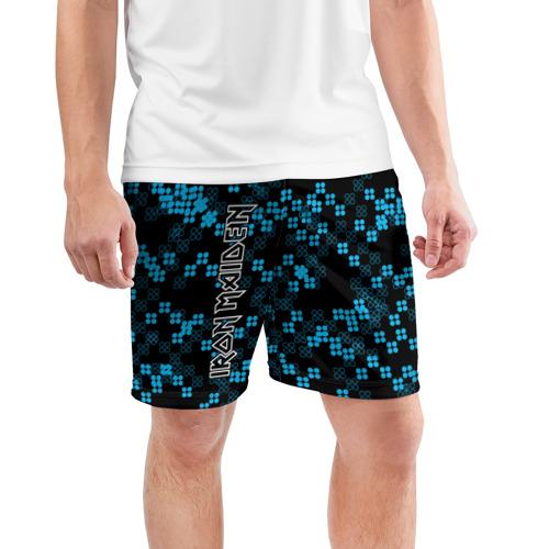 Мужские шорты 3D спортивные  Фото 03, Iron Maiden