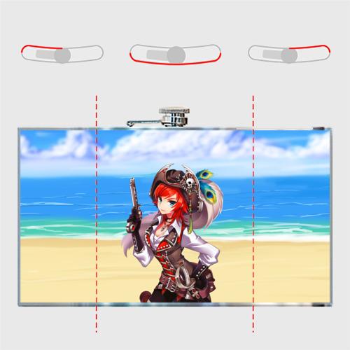 Фляга  Фото 05, Пиратка