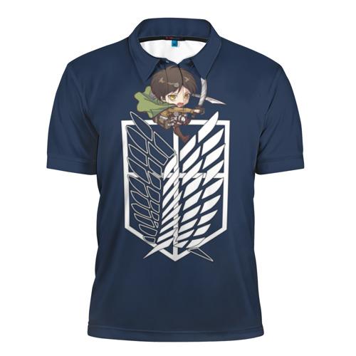 Мужская рубашка поло 3D  Фото 01, Эрен Йегер