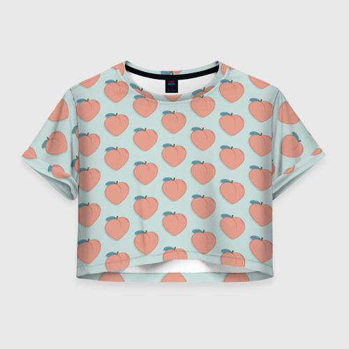 Женская футболка Cropp-top Peaches