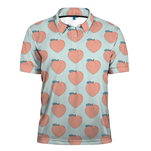 Мужская рубашка поло 3D  Фото 01, Peaches