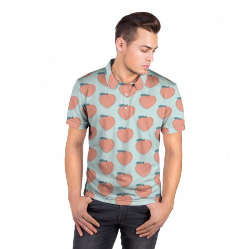 Мужская рубашка поло 3D  Фото 05, Peaches