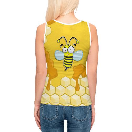 Женская майка 3D  Фото 04, Пчелка