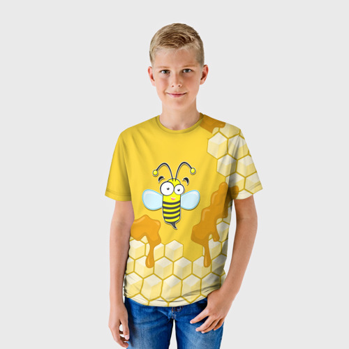 Детская футболка 3D  Фото 01, Пчелка