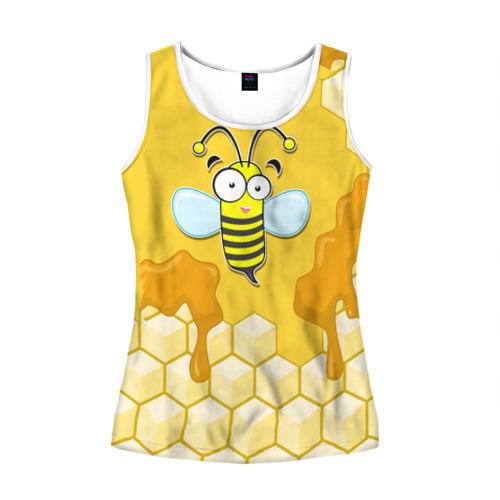Женская майка 3D  Фото 01, Пчелка