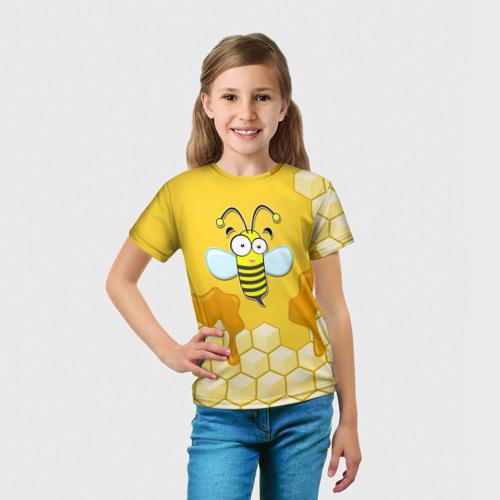 Детская футболка 3D  Фото 03, Пчелка
