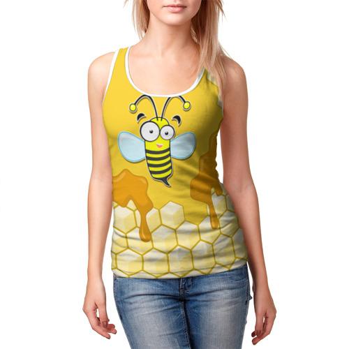 Женская майка 3D  Фото 03, Пчелка