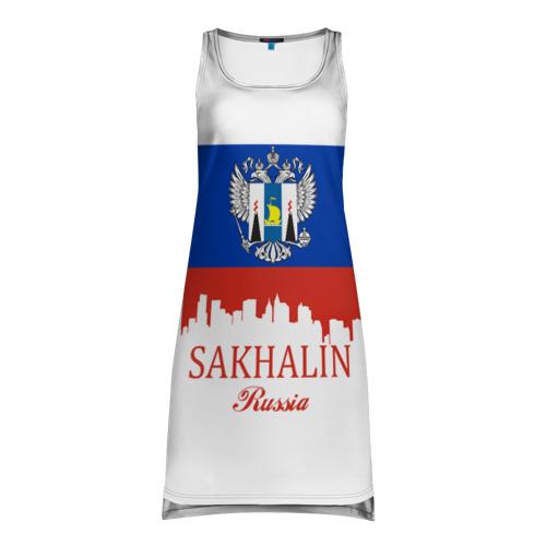 Платье-майка 3D Сахалинская область
