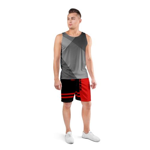 Мужские шорты 3D спортивные  Фото 04, МАЗ