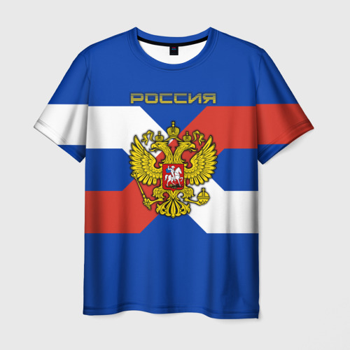 Мужская футболка 3D  Фото 03, Герб России