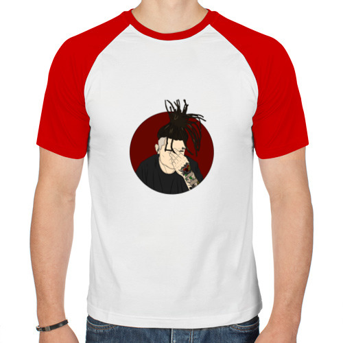 Мужская футболка реглан  Фото 01, MORGENSHTERN