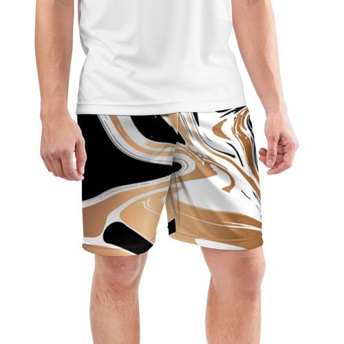 Мужские шорты 3D спортивные  Фото 03, Абстракция