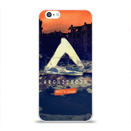 Чехол для Apple iPhone 6 силиконовый глянцевый  Фото 01, Architects