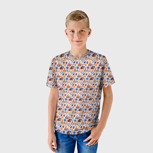 Детская футболка 3D  Фото 01, Русские символы