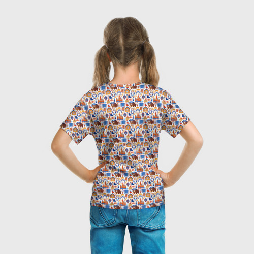 Детская футболка 3D  Фото 04, Русские символы