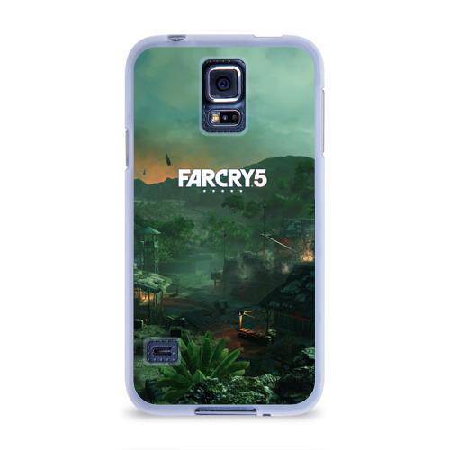 Чехол для Samsung Galaxy S5 силиконовый  Фото 01, Far Cry Vietnam