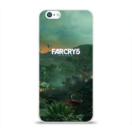 Чехол для Apple iPhone 6 силиконовый глянцевый  Фото 01, Far Cry Vietnam