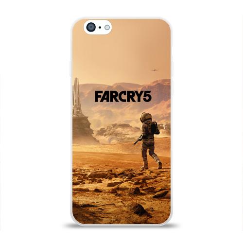 Чехол для Apple iPhone 6 силиконовый глянцевый  Фото 01, Far Cry 5 Mars