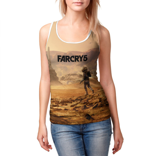 Женская майка 3D  Фото 03, Far Cry 5 Mars