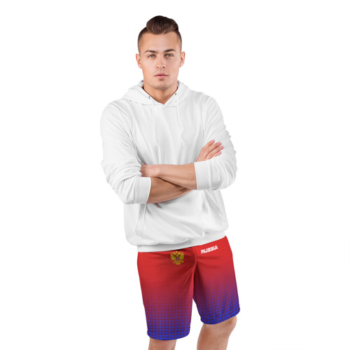 Мужские шорты 3D спортивные  Фото 05, RUSSIA SPORT