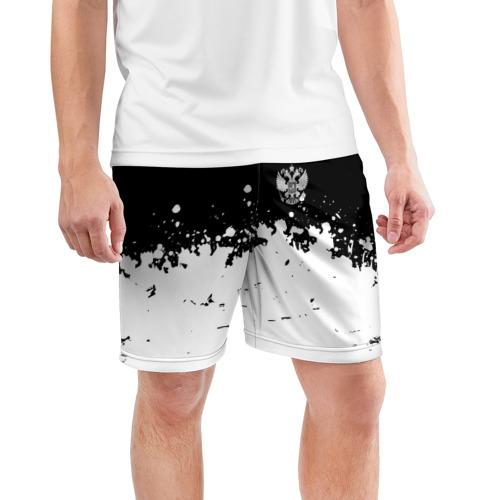 Мужские шорты 3D спортивные  Фото 03, RUSSIA SPORT