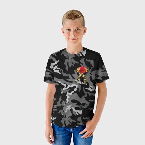 Детская футболка 3D  Фото 01, Георгиевская лента!