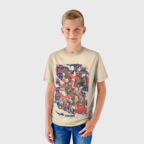 Детская футболка 3D  Фото 01, FarCry5 Art