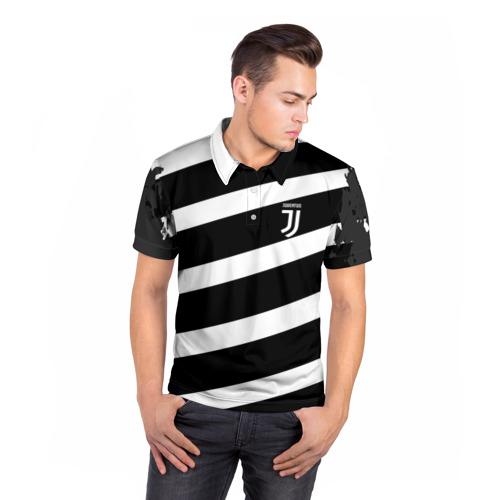 Мужская рубашка поло 3D  Фото 05, JUVENTUS SPORT