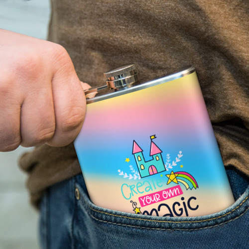 Фляга  Фото 04, Create your own magic