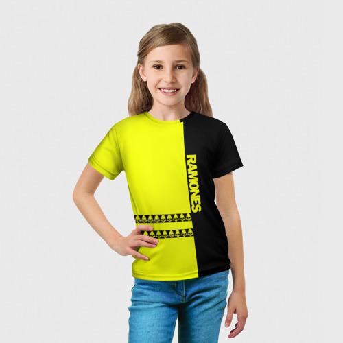 Детская футболка 3D  Фото 03, Ramones