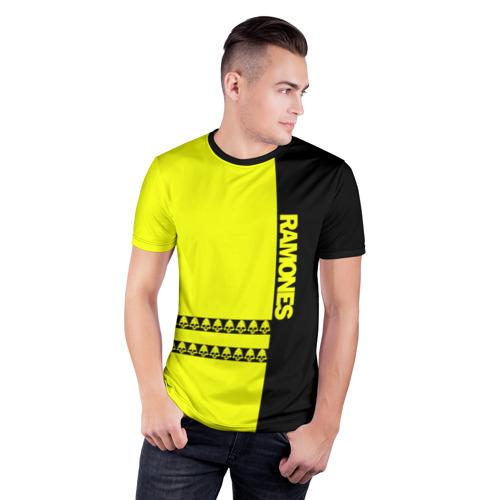 Мужская футболка 3D спортивная  Фото 03, Ramones