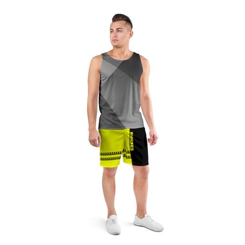 Мужские шорты 3D спортивные  Фото 04, Ramones