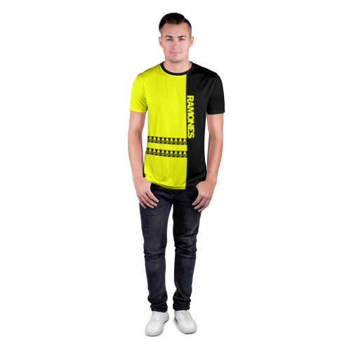 Мужская футболка 3D спортивная  Фото 04, Ramones