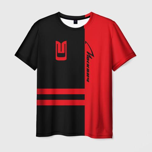 Мужская футболка 3D Москвич Фото 01
