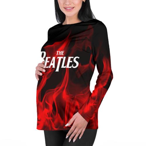 Женский лонгслив 3D для беременных  Фото 01, The Beatles