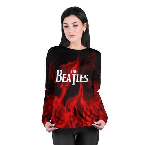 Женский лонгслив 3D для беременных  Фото 04, The Beatles