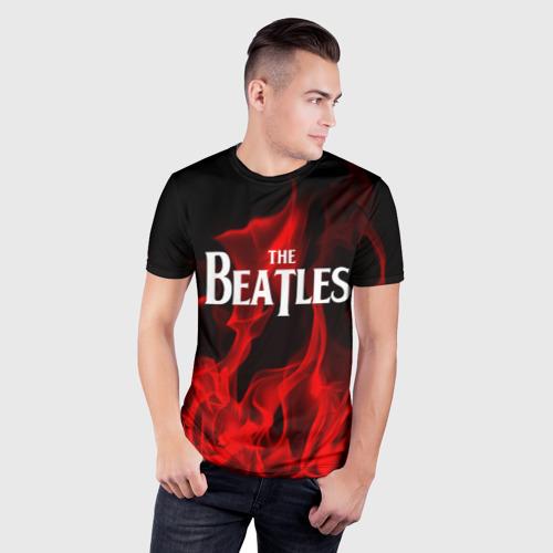 Мужская футболка 3D спортивная  Фото 03, The Beatles