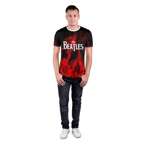 Мужская футболка 3D спортивная  Фото 04, The Beatles