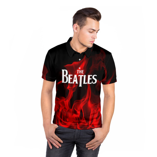 Мужская рубашка поло 3D  Фото 05, The Beatles