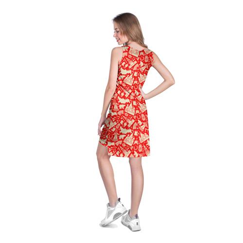 Платье-майка 3D  Фото 04, Русские символы