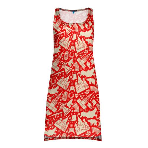 Платье-майка 3D  Фото 01, Русские символы