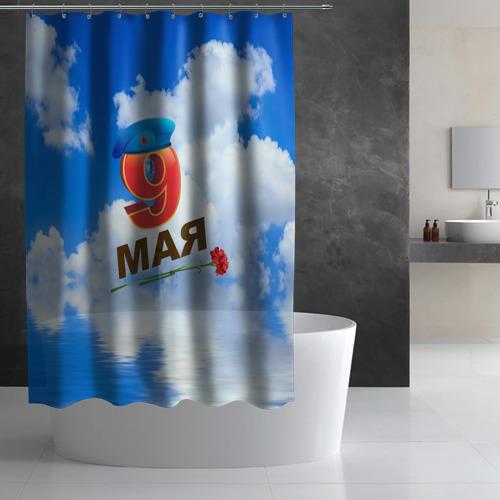 Штора 3D для ванной  Фото 03, 9 Мая!