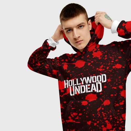 Мужская толстовка 3D  Фото 01, Hollywood Undead