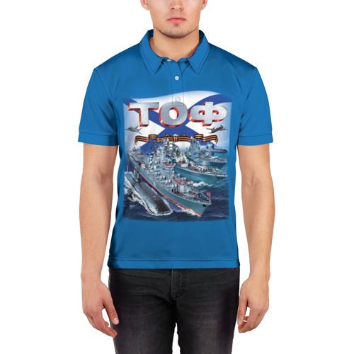 Мужская рубашка поло 3D  Фото 03, ТОФ