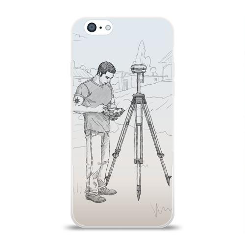 Чехол для Apple iPhone 6 силиконовый глянцевый  Фото 01, Парень с контроллером