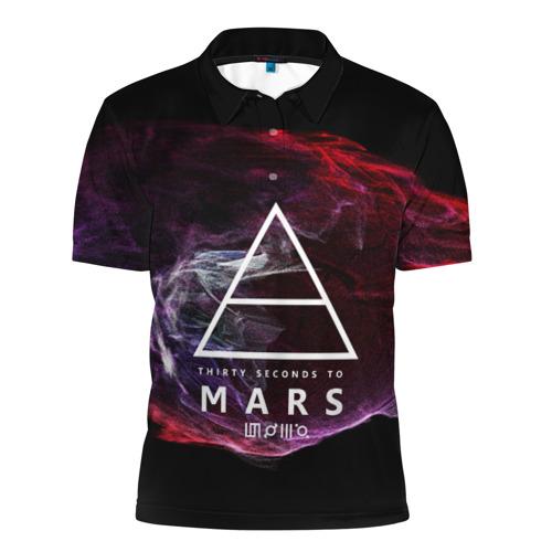 Мужская рубашка поло 3D  Фото 01, 30 Seconds to Mars