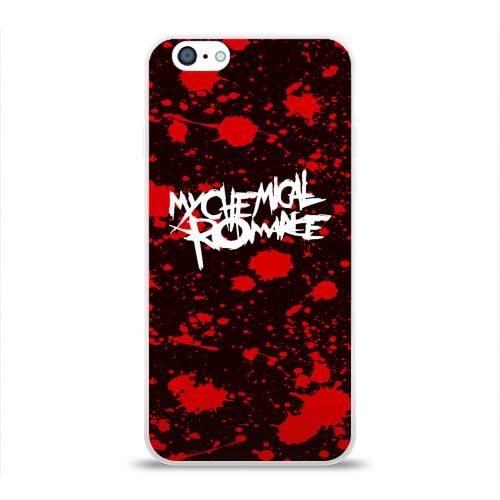 Чехол для Apple iPhone 6 силиконовый глянцевый  Фото 01, My Chemical Romance