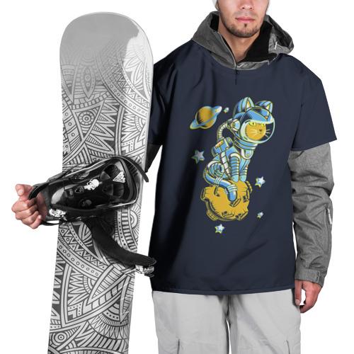 Накидка на куртку 3D  Фото 01, Кот космонавт